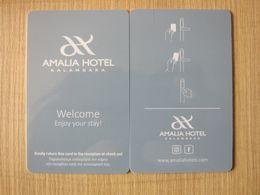 Amalia Hotel Kalambaka,Greece - Hotelsleutels (kaarten)