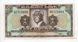 - Billet RÉPUBLIQUE D'HAITI - 1 COURDE - - Haiti