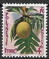POLYNESIE  FRANCAISE    -   1958.   Y&T N°13 ** .   Fleurs  /  Artocarpus. - Polinesia Francese