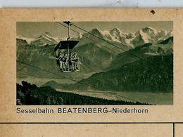 Carte Neuve Illustrée N° 182 - 0331 C ( Sesselbahn BEATENBERG - Niederhorn ) - Entiers Postaux