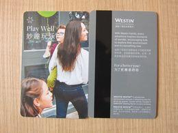 Westin Play Well - Hotelsleutels (kaarten)