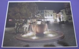GERMANY POSTCARD ALZEY ROSSMARKT PICTURE ADVERTISING DESIGN ORIGINAL PHOTO POST CARD PC STAMP - Advertising