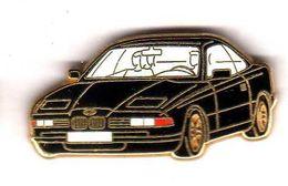 Pin's BMW Noire  Zamac Arthus Bertrand - Arthus Bertrand