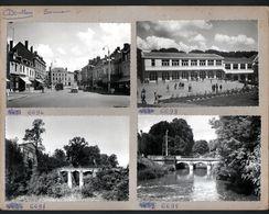 80, Doullens, 4 Cpsm Montées Sur 1 Carton De Presentation D'editeur. Voir Description, Maurice Collin Photo - Doullens