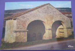 SAINT GENGOUX DE SCISSE BONZON BOURGOGNE FRANCE PICTURE ADVERTISING DESIGN ORIGINAL PHOTO POST CARD PC STAMP - Advertising