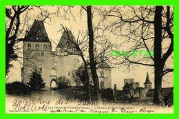 LES TROIS-MOUTIERS (86) - LE CHÂTEAU DE BERRIE (XIIIe SIÈCLE) - DANDO-BERRY - CIRCULÉE EN EN 1905 - - Les Trois Moutiers