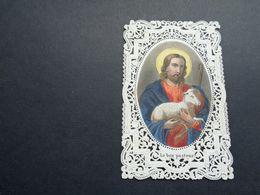 Devotieprentje ( 2056 )  Image Pieuse Religieuse Dentellée Avec Dentelle - Prentje Met Kant - Images Religieuses