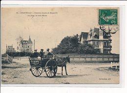 DEAUVILLE : Extrême Limite De Deauville, Au Fond, La Villa Morss - Très Bon état - Deauville