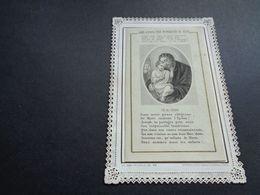 Devotieprentje ( 2068 )  Image Pieuse Religieuse Dentellée Avec Dentelle - Prentje Met Kant - Images Religieuses