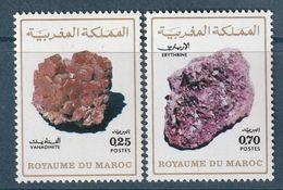 MAROC - N°698/9 ** (1974) Minéraux - Maroc (1956-...)