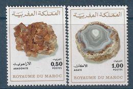 MAROC - N°721/2 ** (1975) Minéraux - Maroc (1956-...)