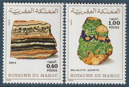 MAROC - N°873/4 ** (1981) Minéraux - Maroc (1956-...)