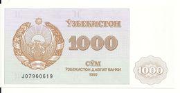 OUZBEKISTAN 1000 SUM 1992 UNC  P 70 - Uzbekistan