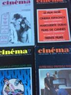 7 Numéros De Cinéma 77-78-79-80-81: 223/224-225/227 & 238  & N° 250/251 & 276 (petit Format 77/78 & Moyen à Partir De 79 - Cinema