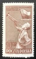 Polska - Poland - Polen - P1/8 - MNH - 1952 - Arbeiderscongres - Michel Nr. 759 - 1944-.... Republic