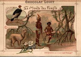 CHROMO  CHOCOLAT LOUIT  COLOMBIE - Louit