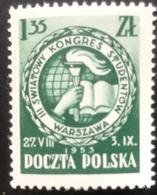 Polska - Poland - Polen - P1/9 - MNH - 1952 - Studentencongres - Michel Nr. 812 - 1944-.... Republic