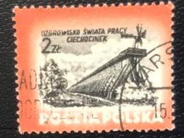 Polska - Poland - Polen - P1/9 - (°)used - 1953 - Kuuroorden - Michel Nr. 830 - 1944-.... Republic
