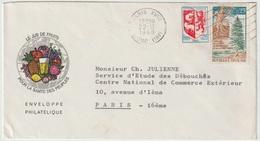 Enveloppe Philatélique - Le Jus De Fruit  Pour La Santé Des Peuples - Congrès International Des Jus De Fruit 1968 - Marcofilia (sobres)
