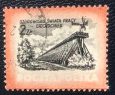 Polska - Poland - Polen - P1/9 - (°)used - 1953 - Kuuroorden - Michel Nr. 830 - Hydrotherapy