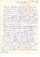 Lettre Manuscrite Estretat - Manuscrits