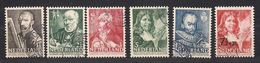 Pays-Bas Nederland 1940 Yvertn° 342-347 (°) Oblitéré Cote 7,00 € - Used Stamps