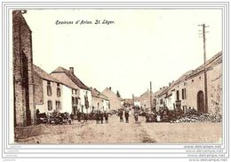 SAINT - LEGER ..-- Le  Village . 1913 Vers HERSTAL ( Mr Mme ITSERS ) . Voir Verso . - Saint-Léger