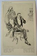 Künstler Ak Liquides Brulants, Teufel , Telefon-Gespräch Mit Wilhelm II. (19121) - Political Parties & Elections