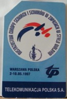 PO98 - POLONIA - POLSKA , URMET - 25 - CAMPIONATO MONDIALE STILE LIBERO 1997 - Pologne