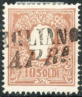 Stamps Austria LOMBARDY-VENETIA 1858 10s Used Lot27 - Gebraucht