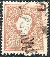 Stamps Austria LOMBARDY-VENETIA 1858 10s Used Lot28 - Usati