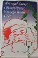 PO99 - POLONIA - POLSKA , URMET - 50 - WESOLYCH SWIAT I SZEZESLIWEGO NOWEGO ROKU 1996, BUON NATALE E FELICE ANNO NUOVO - Pologne