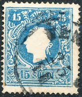 Stamps Austria LOMBARDY-VENETIA 1858 15s Used Lot30 - Gebraucht