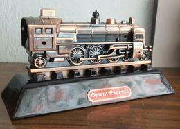 Briquet De Table , Train En Metal Bronze * Marque Dora Lighters *  , Année 1998 , 20cm Neuf JS-1926 - Dupont