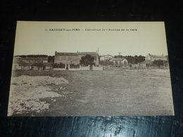 SAUSSET-LES-PINS - CARREFOUR DE L'AVENUE DE LA GARE - 13 BOUCHES DU RHONE (CN) - France