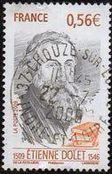 France Oblitération Cachet à Date N° 4377 - Etienne Dolet - Used Stamps