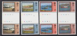 Falkland Islands Dependencies 1980 Definitives/Ships 9p + 3 Highest Values Gutter ** Mnh (48589) - Géorgie Du Sud