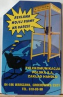 PO100 - POLONIA - POLSKA , URMET - 25 -  DIPARTIMENTO COMMERCIALE COMUNICAZIONE - TELEKOMUNICAJA ZAKLAD HANDLU - Pologne