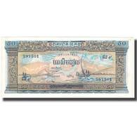 Billet, Cambodge, 50 Riels, Undated (1972), KM:7a, SUP - Cambodge