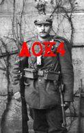 Pfeffenhausen BIR 2 Schulterklappe Seitengewehr Beilpicke 1909 Munitionstaschen Taschenlampe Ausmarsch - Guerre 1914-18