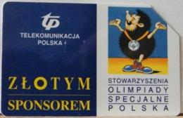 PO101 - POLONIA - POLSKA , URMET - 50 -  OLIMPIADI - ZLOTYM  SPONSARO D' ORO - Pologne