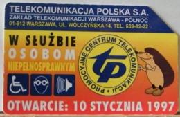 PO102 - POLONIA - POLSKA , URMET - 50 -  PROMOZIONE CENTRO TELECOMUNICAZIONE TP 1997 - Pologne