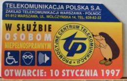 PO103 - POLONIA - POLSKA , URMET - 25 -  PROMOZIONE CENTRO TELECOMUNICAZIONE TP 1997 - Pologne