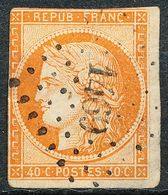 Stamp France - SC 7 - 4oc Used. (CV $ 450) - 1849-1850 Ceres