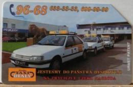 PO104 - POLONIA - POLSKA , URMET - 50 -  TAXI BIALY - Pologne