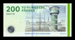 Dinamarca Denmark 200 Kroner 2016 Pick 67f(1) SC UNC - Denmark