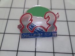 1220 Pin's Pins / Beau Et Rare / THEME : EDF GDF / CHALLENGE EDF 1992 - EDF GDF