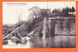 Nw1167 MONTREUIL-BELLAY 49-Maine Loire Catastrophe Train 23 Novembre 1911 Ce Que On Aperçoit Machine 3611 Photo COLLET 3 - Montreuil Bellay