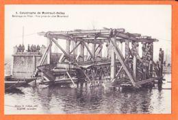 Nw1168 MONTREUIL-BELLAY 49-Maine Loire Catastrophe Train 23 Novembre 1911 Relevage Du Pont Vue Prise Côté Photo COLLET 5 - Montreuil Bellay
