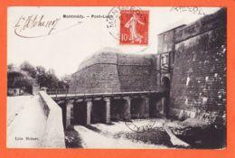 Nw1187 MONTMEDY (55) Pont LEVIS 1907 Edward De DOUHET à Marie Louise MILHAU Royal Victoria College Montreal-Lib HUBERT - Montmedy